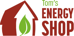 tom's energy shop logo